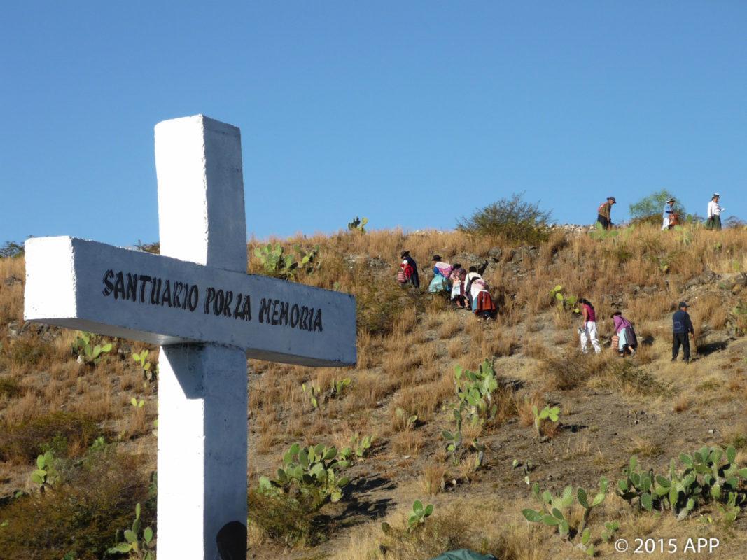 Los sitios de memoria:  El caso del Santuario de la Hoyada, Ayacucho