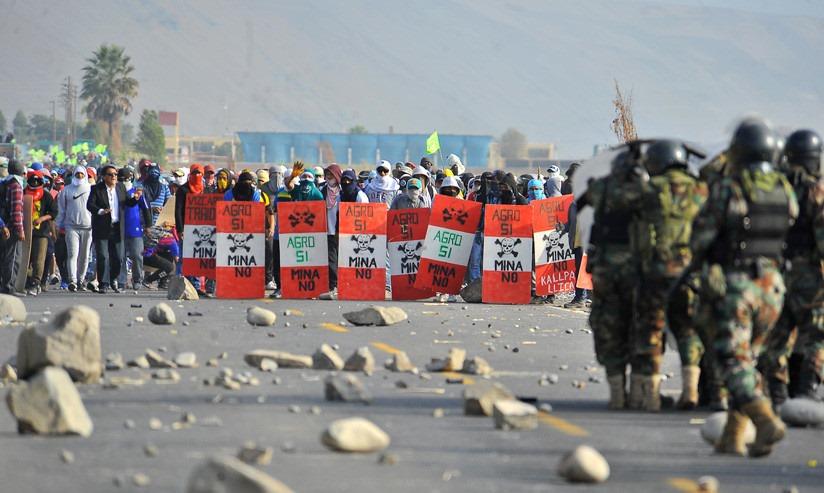 Los Activos Críticos Nacionales – ACN como elemento para contrarrestar el derecho a la protesta social
